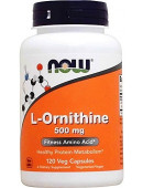 NOW L-Ornithine 500 mg(120 капс) (120 капс)