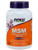 Купить MSM (Метилсульфонилметан) NOW MSM 1000 mg (120 капс)