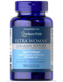 Puritan's Pride Ultra Woman Collagen Support 1000 mg with Hyaluronic Acid & Resveratrol