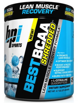 Фото BPI Sports Best BCAA Shredded (300 г)