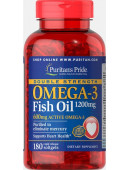 Double Strength Omega-3 Fish Oil 1200/600 mg