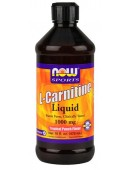 NOW L-carnitine Liquid (473 мл)