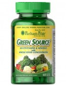 Puritan's Pride Green Source Multivitamin & Minerals (120 таб.) (120 таб)