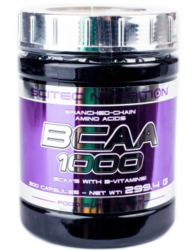 Scitec Nutrition BCAA 1000 (300 капс)