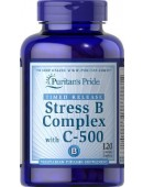 Puritan's Pride Stress B-complex with C-500 (30 табл)