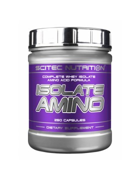 Фото Scitec Nutrition Isolate Amino (250 капс)