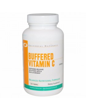 Universal Nutrition Vitamin C Buffered (100 капс)