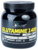 Olimp Nutrition Glutamine 1400 Mega caps (300 капс)