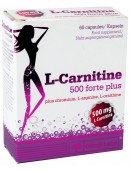 Olimp Nutrition L-carnitine 500 Forte Plus (60 капс)