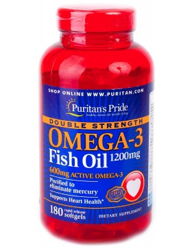 Omega-3 Double Strength 1200mg (180 капс.)