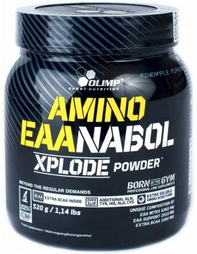 Фото Olimp Nutrition Amino EAANABOL Xplode powder 0.5 kg (520 г)