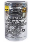 MuscleTech 100% Platinum Glutamine (300 г)