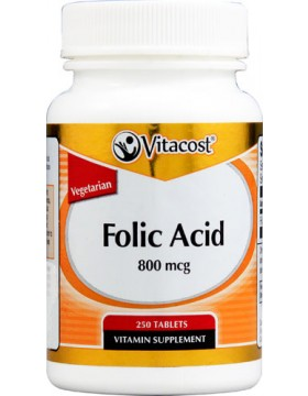 Фото Folic Acid  800mcg (250 таб.)