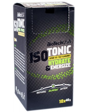 ISO Tonic Hydrate & Energize [10x40g] (400 гр.)