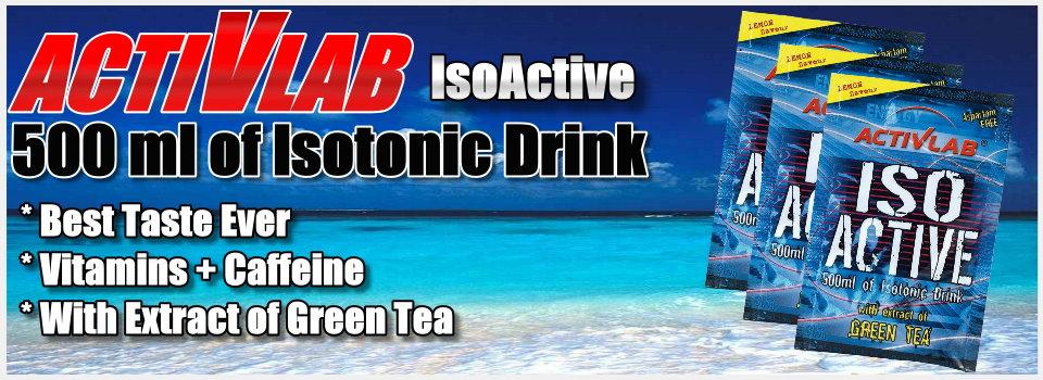 Купить ActivLab Isoactive 0,63 kg (630 г) изотоник в Киеве с доставкой по всей Украине. Как принимать Isoactive 0,63 kg, цена и отзывы - Isoactive 0,63 kg от ActivLab - Bodybuilding.ua