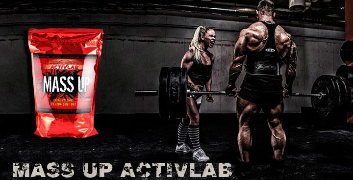 ActivLab MASS UP 5 kg (5000 гр) гейнер в Киеве с доставкой по всей Украине. Как принимать MASS UP 5 kg, цена и отзывы - MASS UP 5 kg от ActivLab  - Bodybuilding.ua