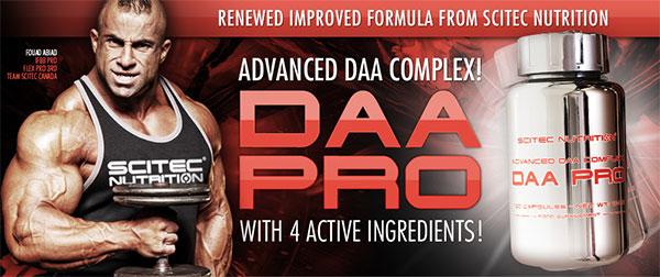 Купить Scitec Nutrition DAA PRO (120 табл) повышения тестостерона в Киеве с доставкой по всей Украине. Как принимать DAA PRO (120 табл), цена и отзывы - DAA PRO (120 табл) от Scitec Nutrition - Bodybuilding.ua