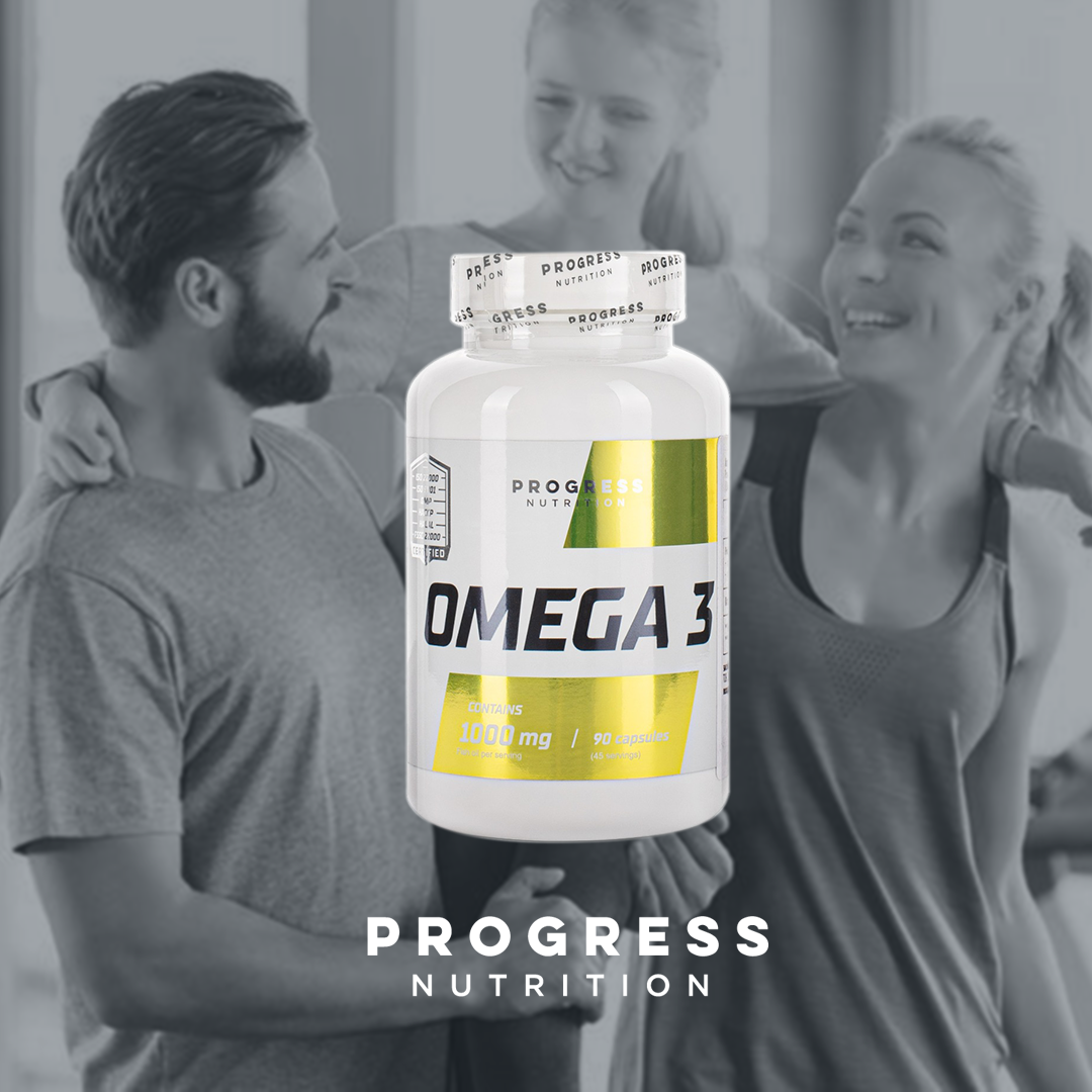 Progress Nutrition Omega 3 90 caps
